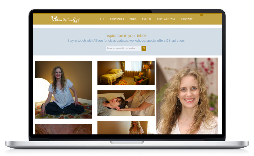 Allison McCready - Yoga Teacher and Therapist