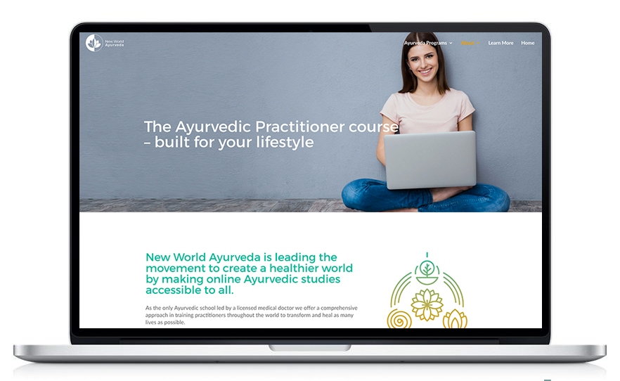 New World Ayurveda is an online Ayurvedic school offering courses to become an Ayurvedic Practitioner.